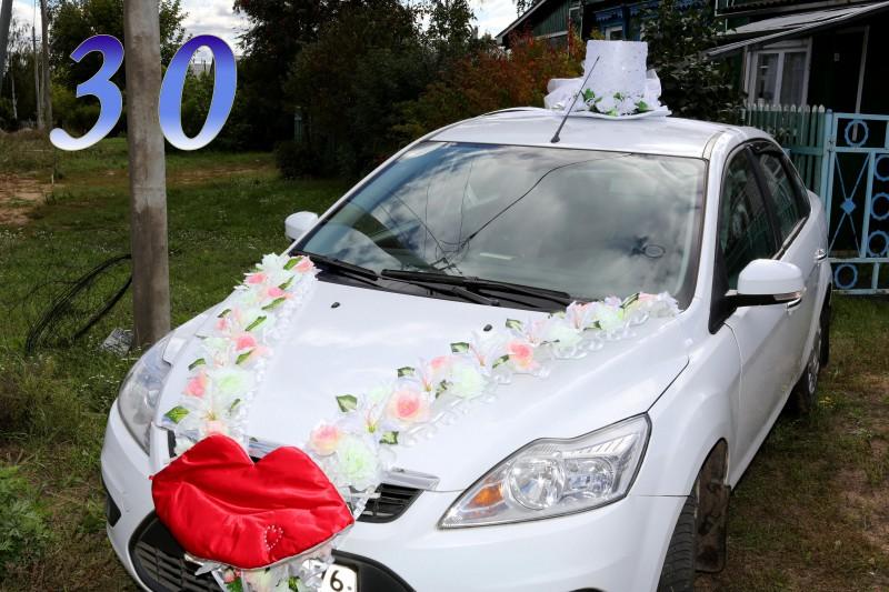 Как делать украшения на машину на свадьбу своими руками 99